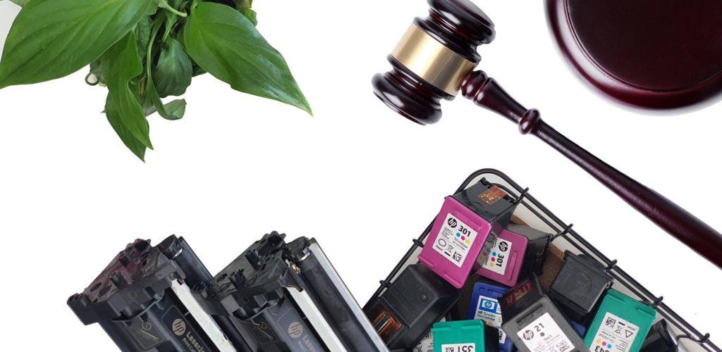 Foto de Gestion legal cartuchos vacios