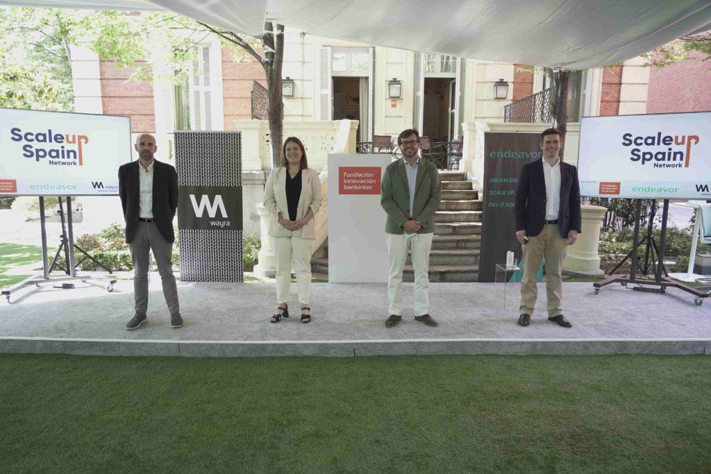 Foto de Presentación Scaleup Spain Network
