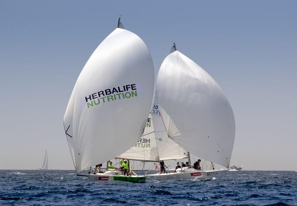 Foto de Herbalife Nutrition patrocina la nueva clase J70 y un barco